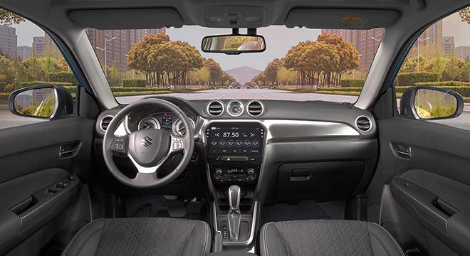 Suzuki Vitara dashboard interior philippines