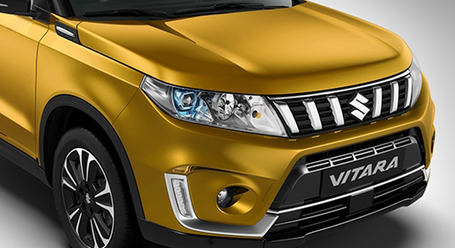 Suzuki Vitara grille exterior philippines