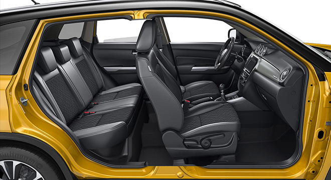 Suzuki Vitara interior cross section philippines