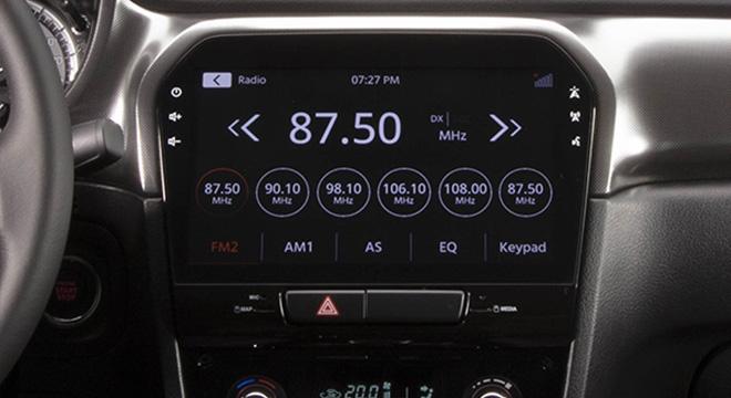 Suzuki Vitara touchscreen infotainment interior philippines