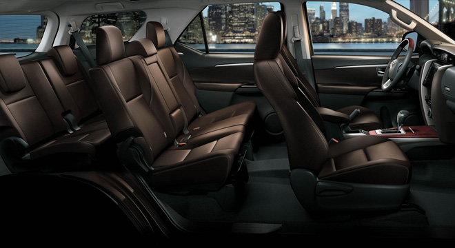 Toyota All-New Fortuner 2018 Philippines Interior