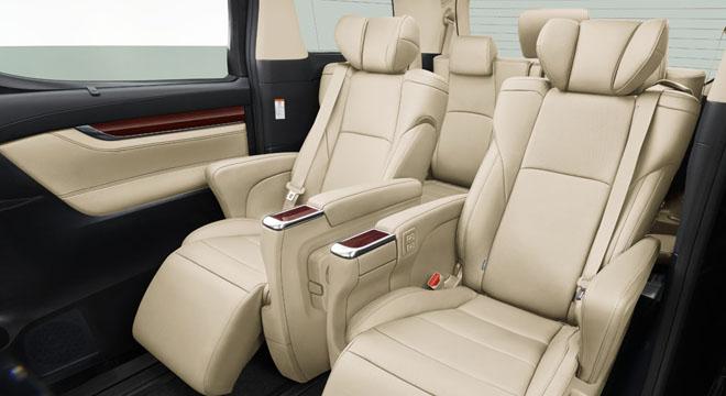 Toyota Alphard 2018 Philippines Seats