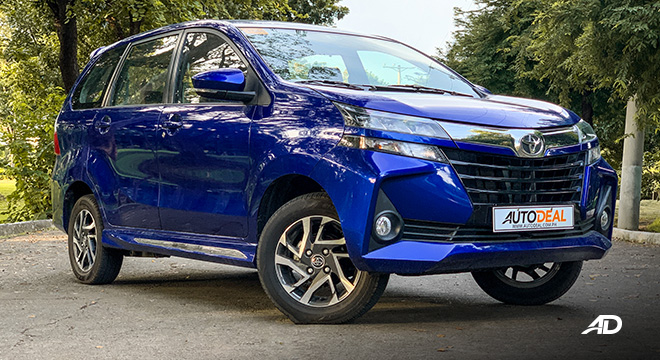 toyota avanza road test front quarter exterior philippines