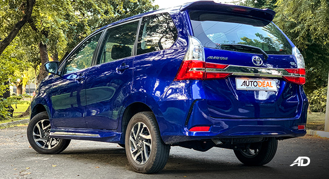 toyota avanza road test rear quarter review exterior philippines