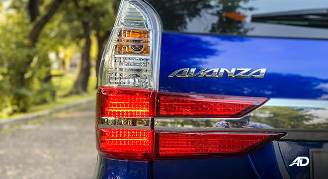 toyota avanza road test taillights exterior philippines