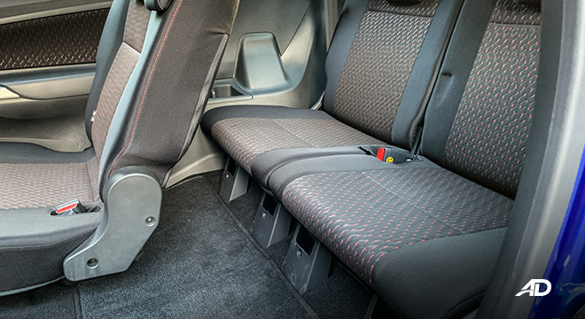 toyota avanza road test third row review interior seats philippines