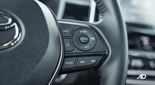 Toyota Corolla Cross audio controls