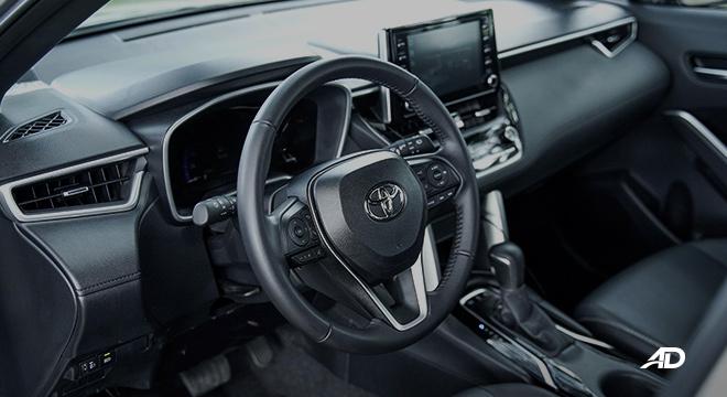 Toyota Corolla Cross cabin
