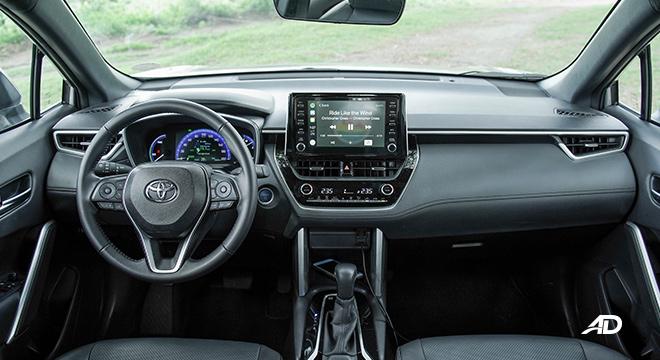 Toyota Corolla Cross interior dashbaord