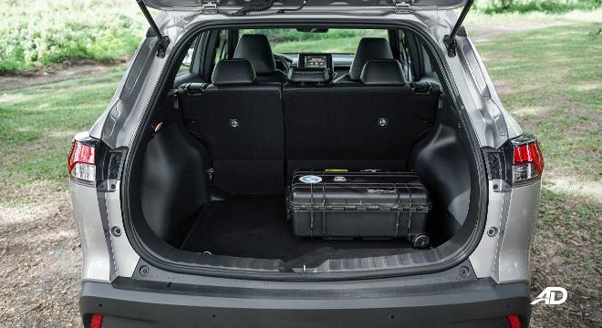 Toyota Corolla Cross rear cargo space