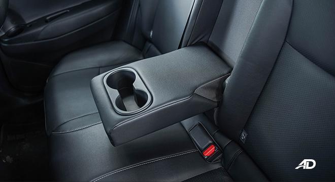Toyota Corolla Cross rear cup holders