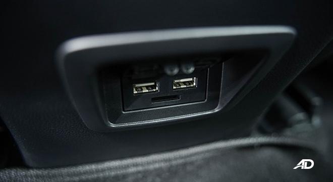 Toyota Corolla Cross  rear USB ports