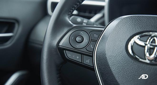 Toyota Corolla Cross steering wheel controls