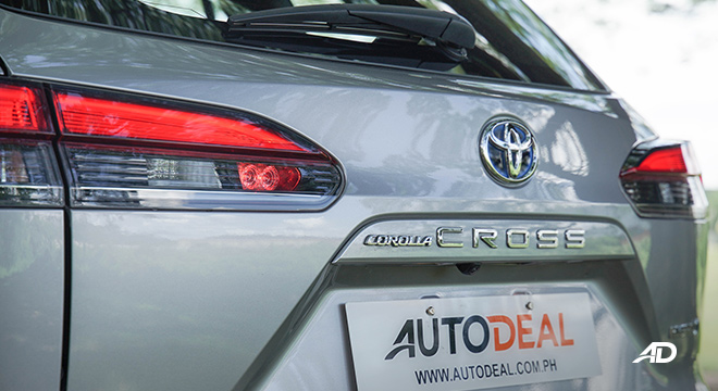 Toyota Corolla Cross tailgate