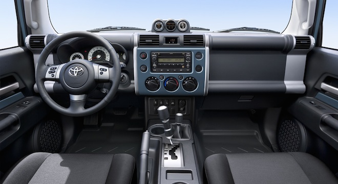 High Quality Toyota FJ Cruiser 2018 Philippines Interior