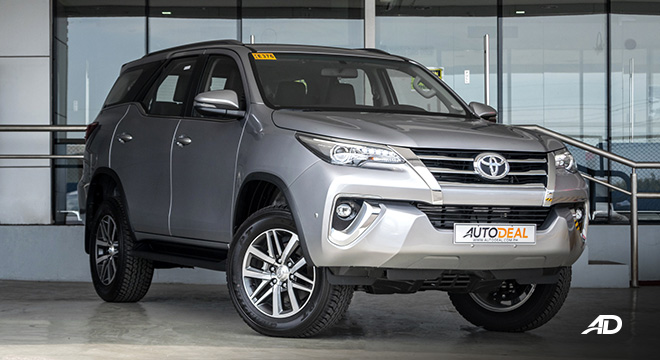 toyota fortuner road test front quarter exterior philippines