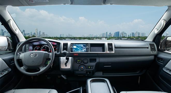 Toyota Hiace 2018 Philippines Interior