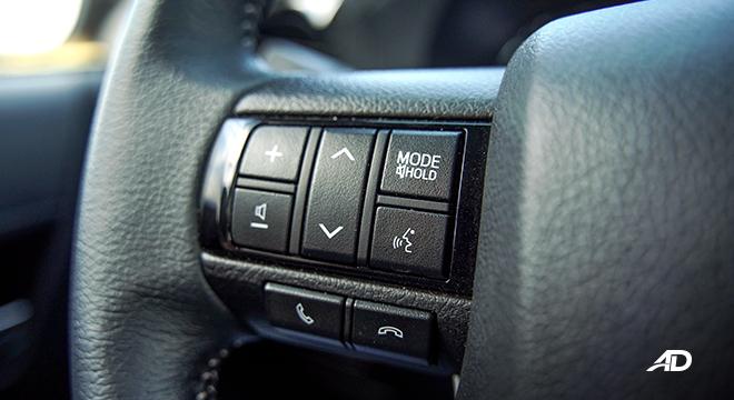 Toyota HIlux Conquest road test audio controls