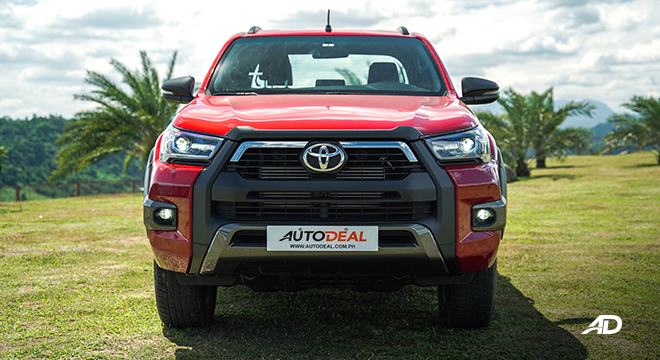 Toyota HIlux Conquest road test front