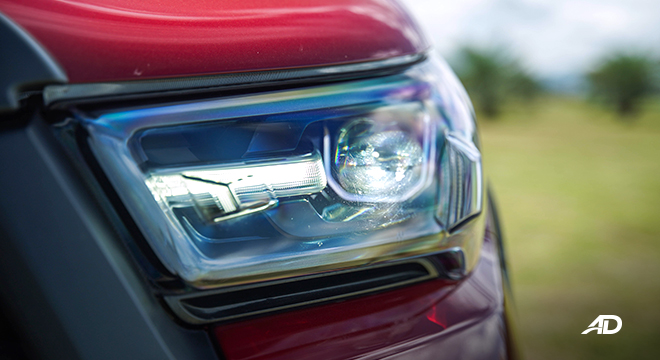 Toyota HIlux Conquest road test LED headlights