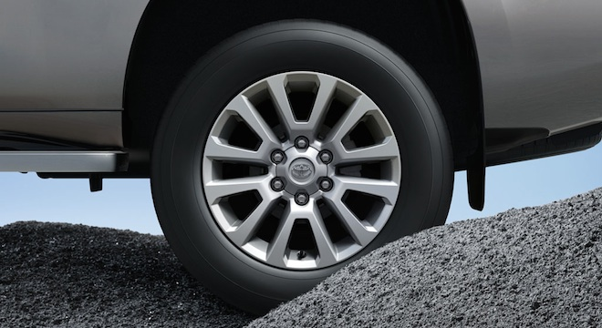 Toyota Land Cruiser Prado 2018 Philippines Wheels