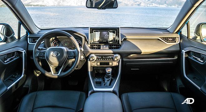 toyota rav4 road test review dashboard interior philippines