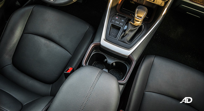 toyota rav4 road test review front seats interior