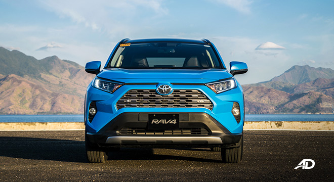 toyota rav4 road test review front view exterior