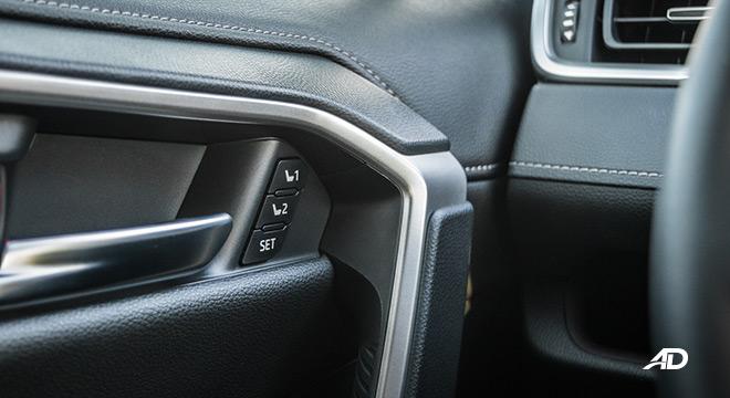 toyota rav4 road test review memory seats interior