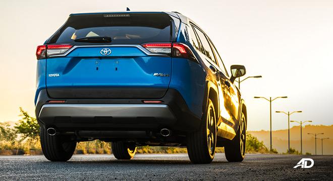 toyota rav4 road test review rear beauty exterior