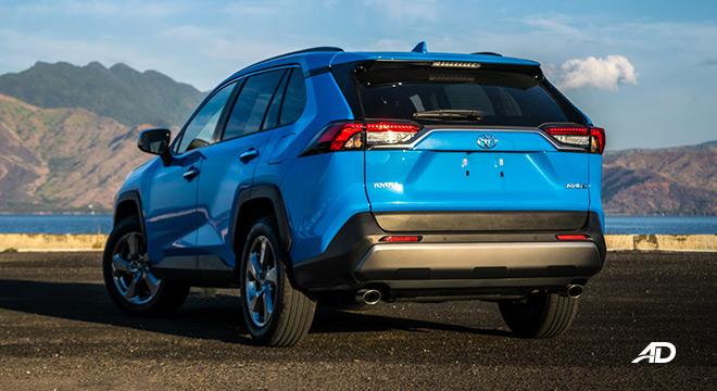 toyota rav4 road test review rear quarter exterior philippines