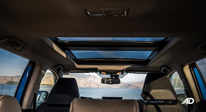 toyota rav4 road test review sunroof interior