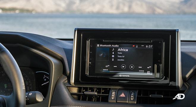 toyota rav4 road test review touchscreen infotainment interior