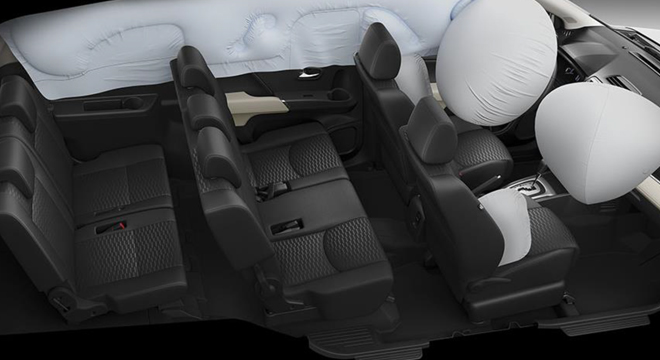 TOYOTA RUSH 2018 airbags