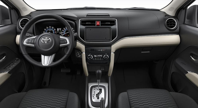 TOYOTA RUSH 2018 dashboard