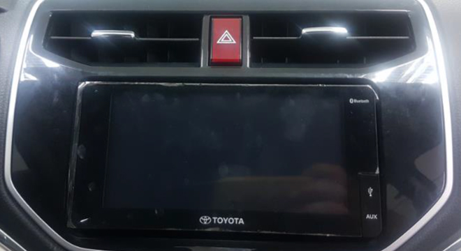 TOYOTA RUSH 2018 stereo system
