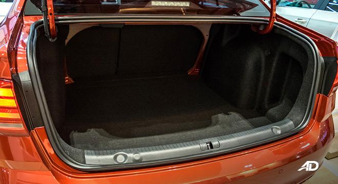 volkswagen lavida showroom trunk cargo interior