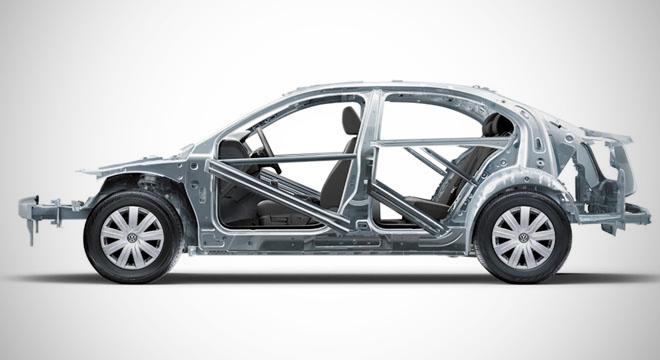 Volkswagen Santana 2018 frame