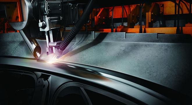 Volkswagen Santana 2018 spot welding