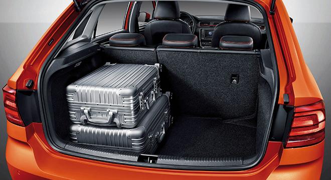 Volkswagen Santana GTS 2018 trunk