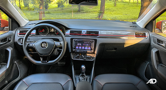 volkswagen santana GTS road test review dashboard interior philippines