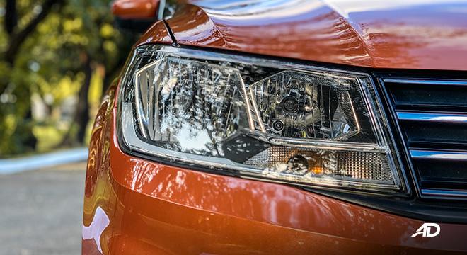 volkswagen santana GTS road test review halogen headlights exterior philippines
