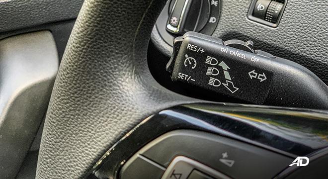 volkswagen santana road test cruise control