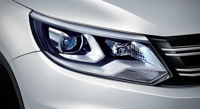 Volkswagen Tiguan 2018 headlights