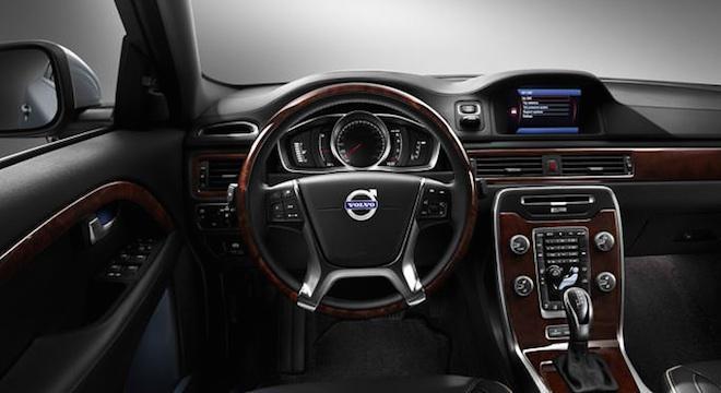 Volvo S80 2018 dashboard