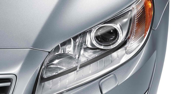 Volvo S80 2018 headlights