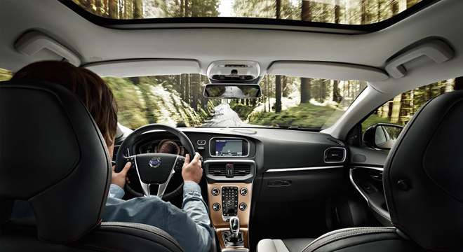 Volvo V40 Cross Country 2018 interior