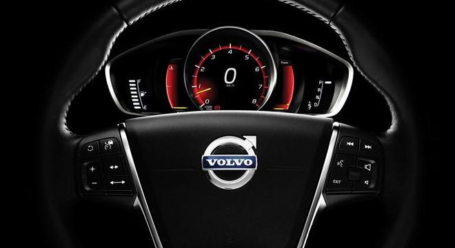 Volvo V40 Cross Country 2018 steering wheel instrument cluster