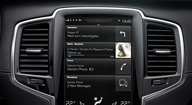 Volvo XC90 2018 multimedia