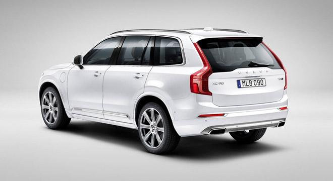 Volvo XC90 2018 rear